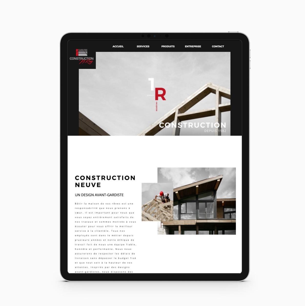Conception de site de construction résidentielle | Agence créative