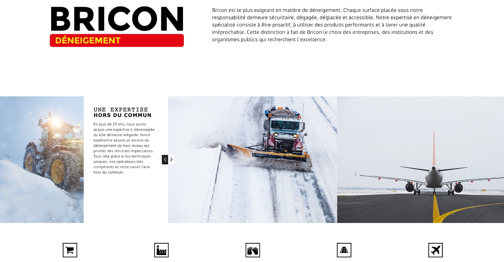 Carrousel images | Design Web | Iconographie | Bricon