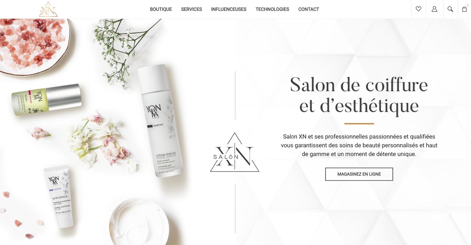 Concept visuel professionnel | Carrousel texte | Icônes