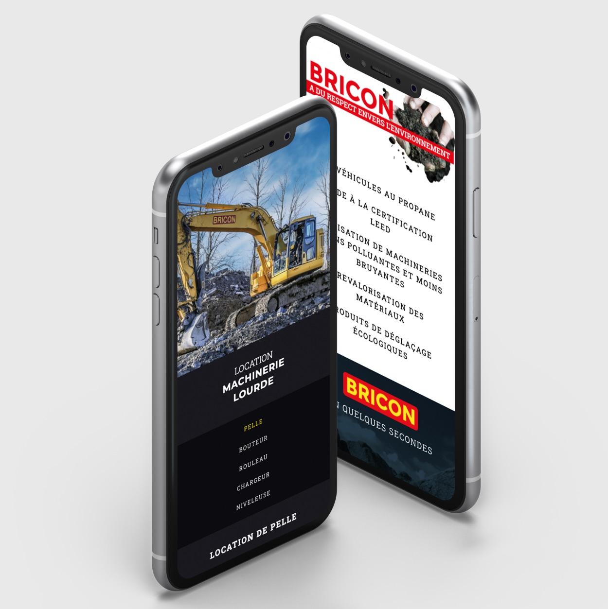 Concept visuel réactif | Mobile-first | Deisng adaptatif