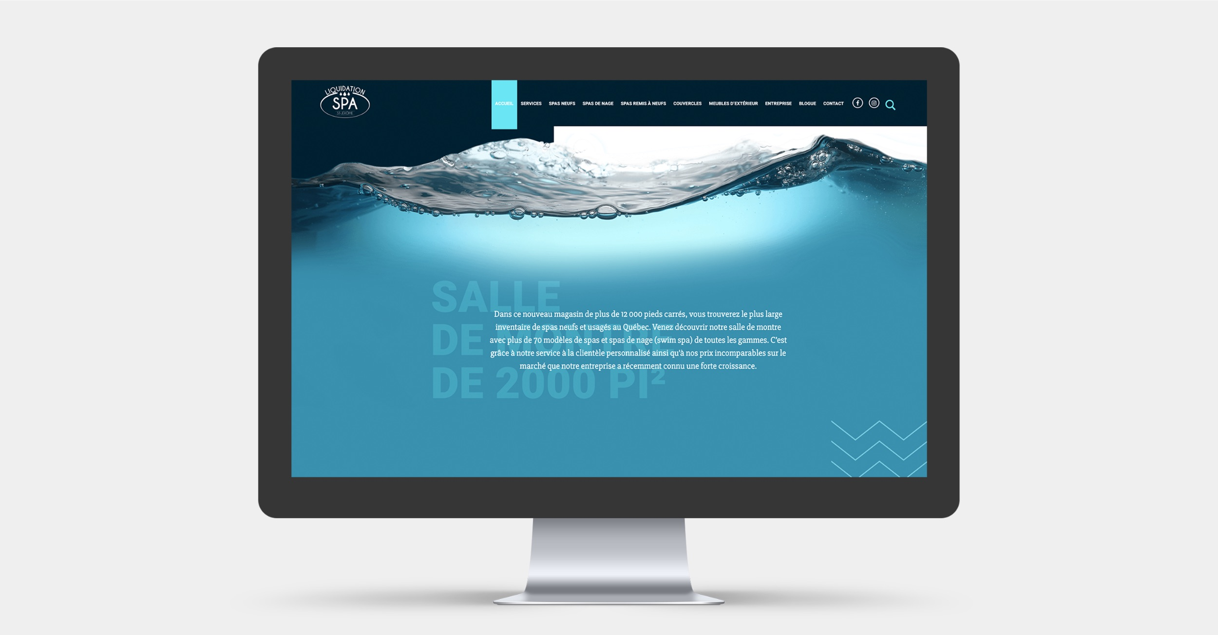 Création de site Web sur mesure | Présence numérique | Spa