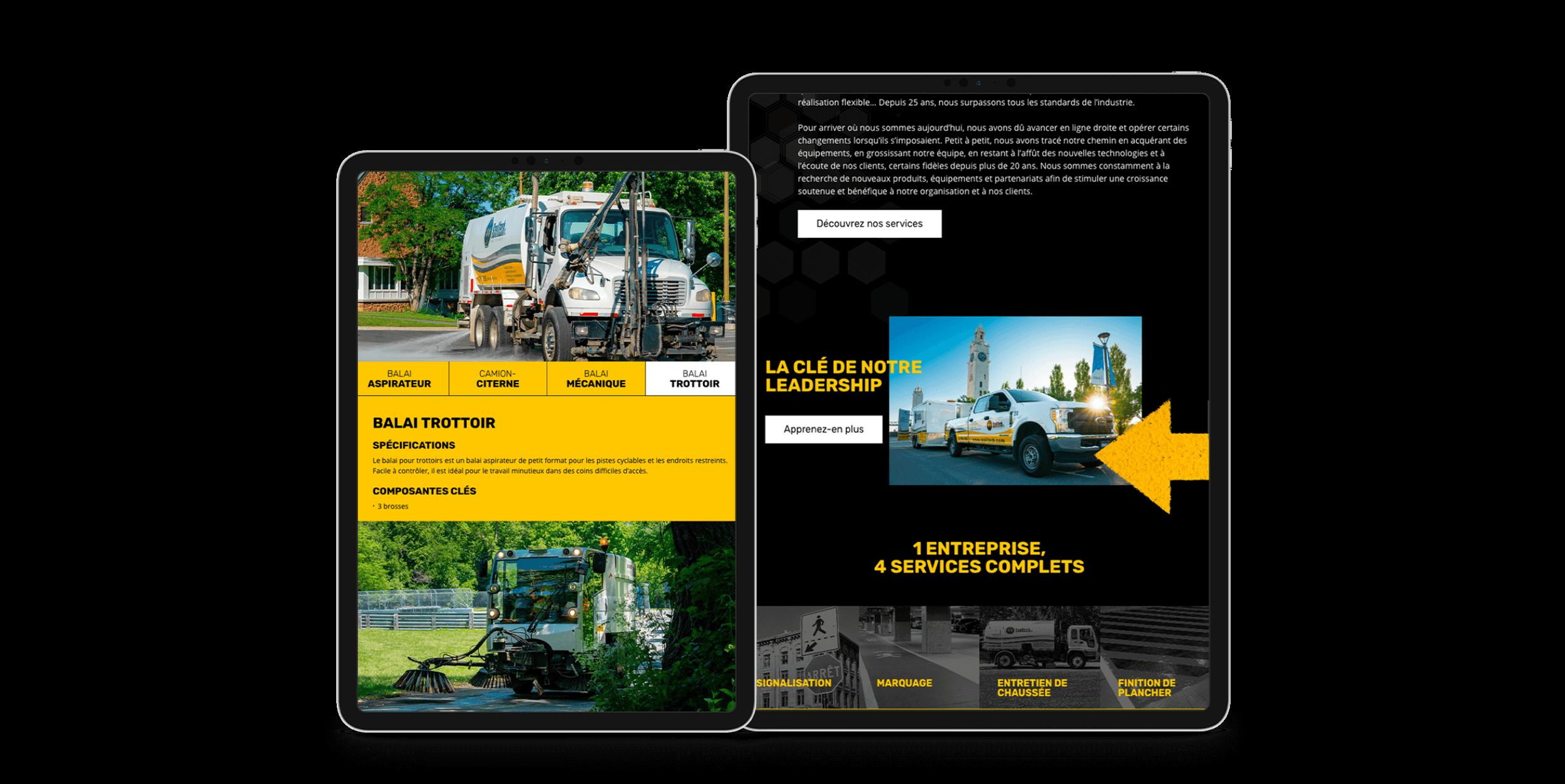 Design adaptatif | Navigation intuitive sur mobile