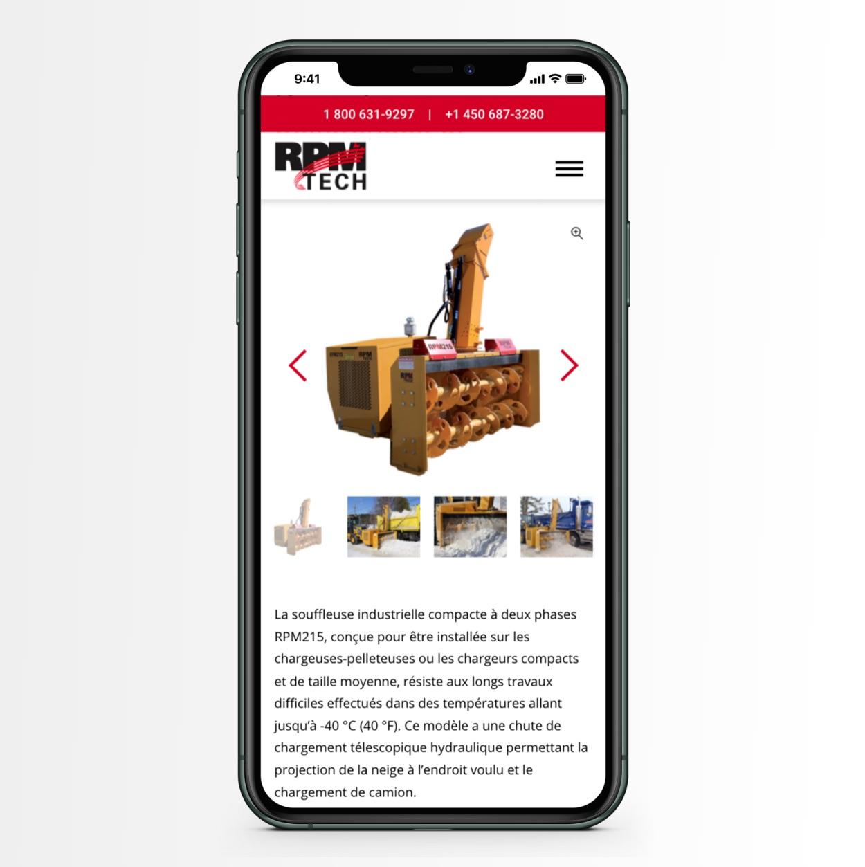 Design mobile | Expérience utilisateur | Référencement optimal