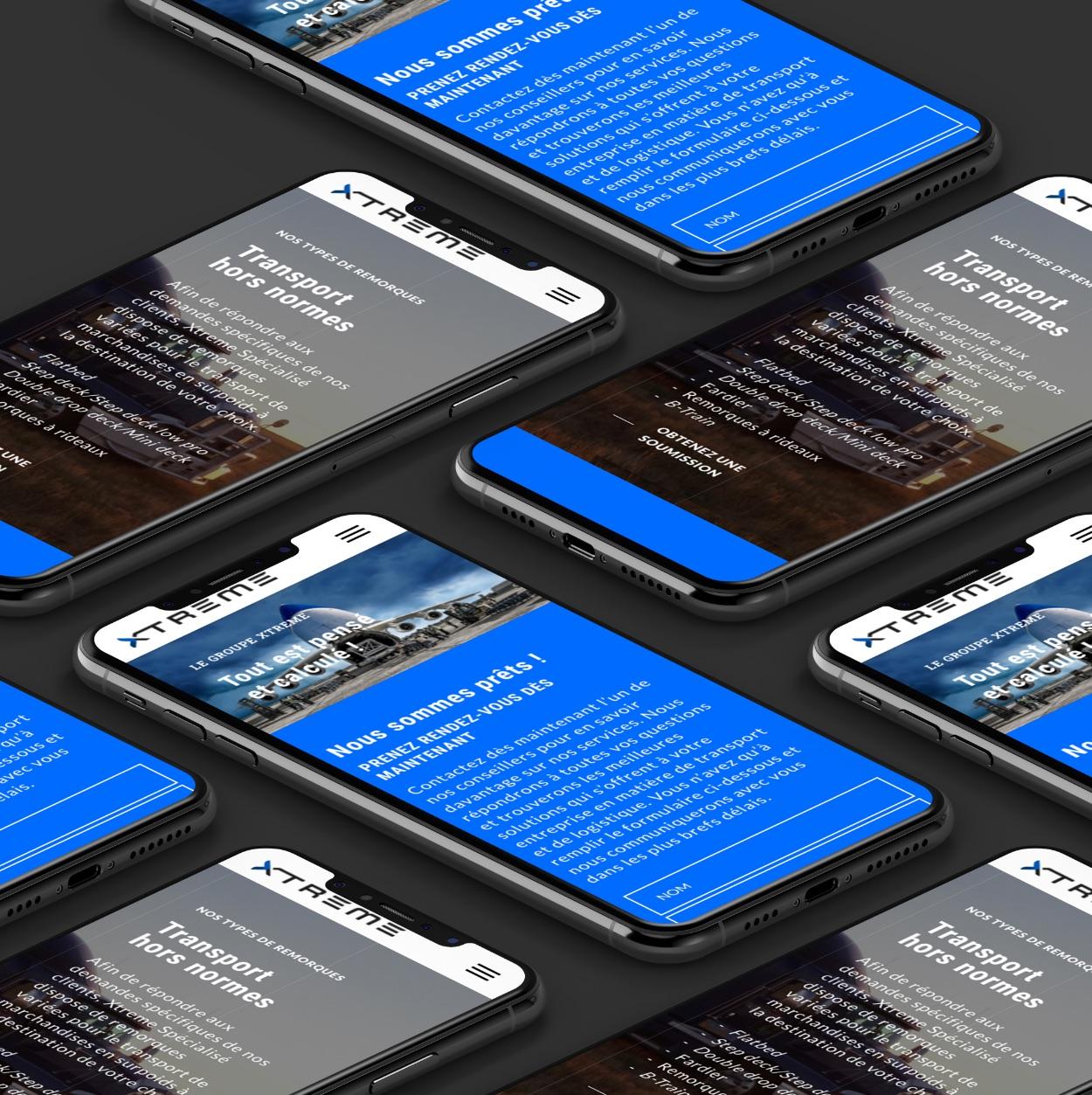 Design mobile | Optimisation visuelle sur tous les médias