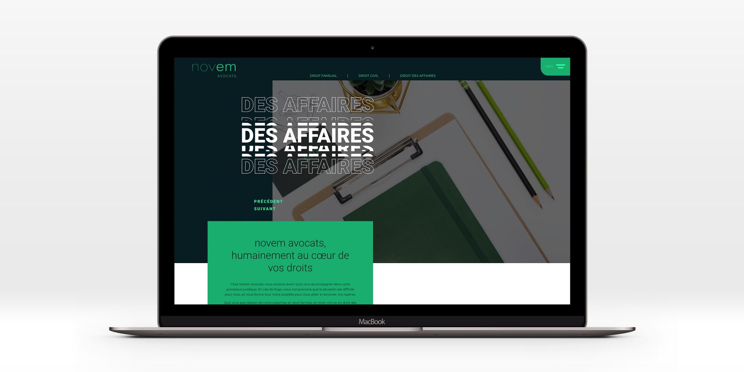 Design unique | Effets visuels | Image professionnelle