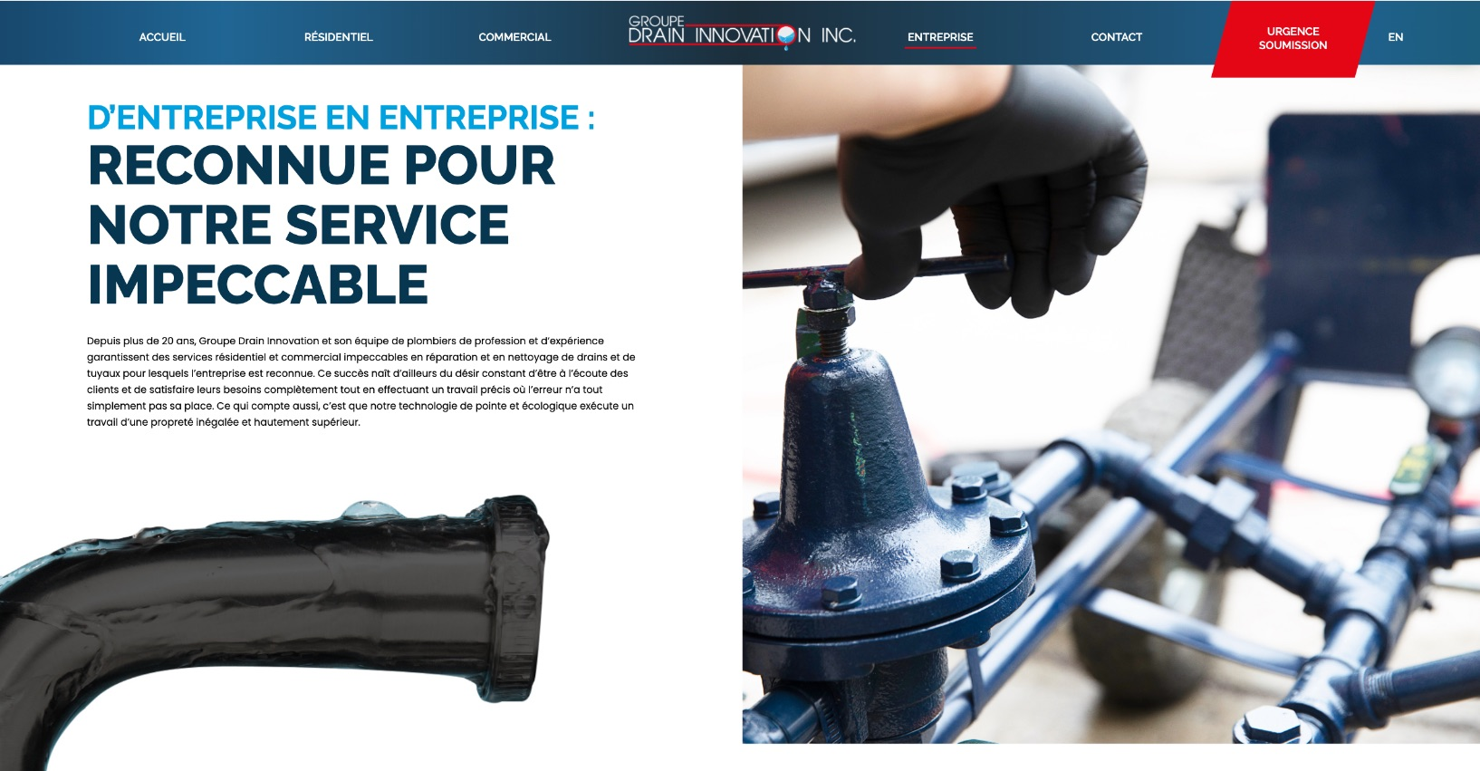 Direction photo | Photo professionnelle en action pour site web