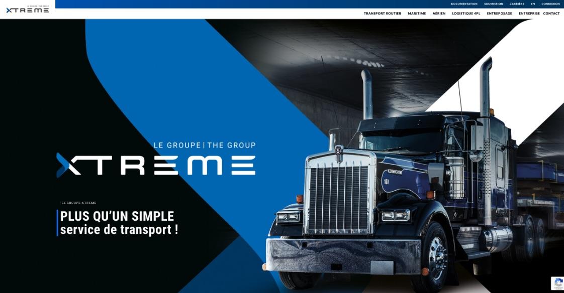 Groupe Xtreme | Nouvelle image de marque | Site Web sur mesure