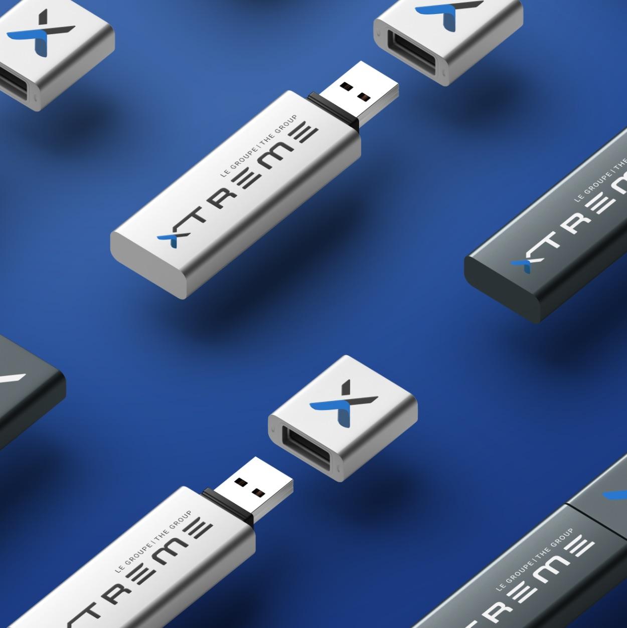 Image masculine | Logo moderne et dynamique | Groupe Xtreme