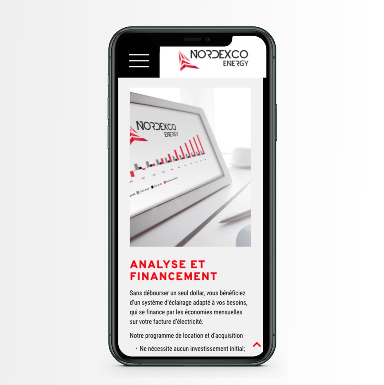 Image professionnelle |Site Web réactif | Navigation mobile