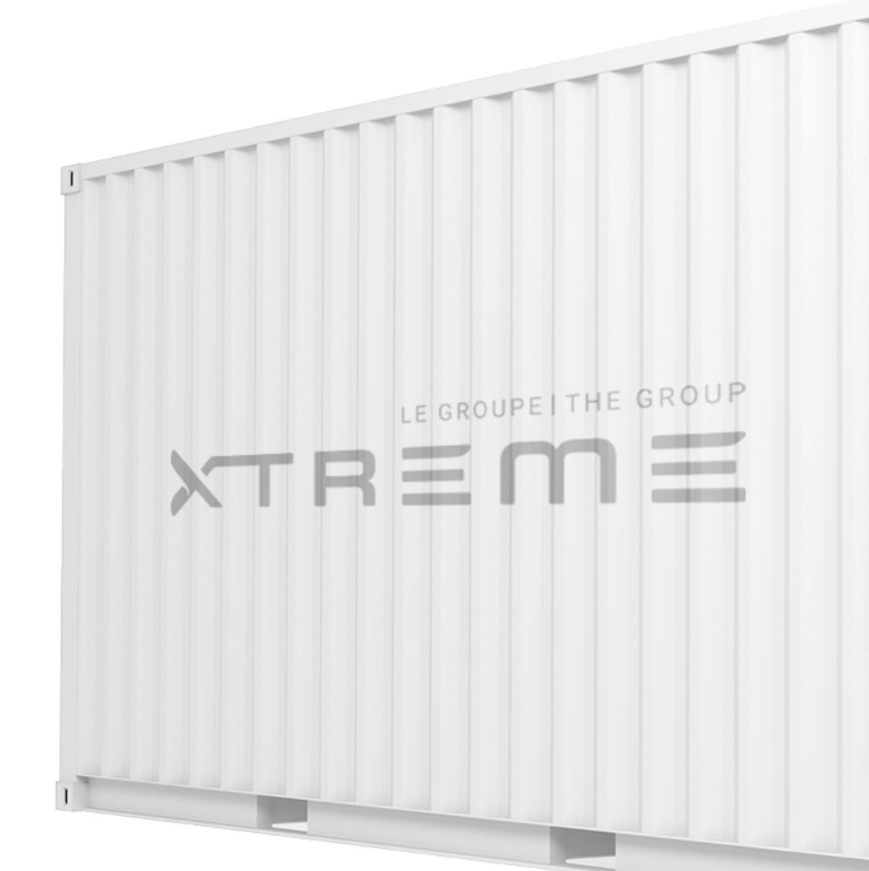 Logo typographique | Le Groupe Xtreme | Identité visuelle