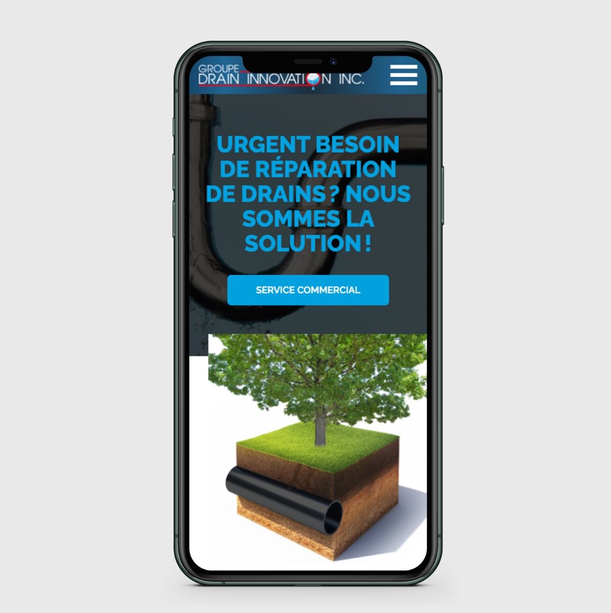 Navigation intuitive sur mobile | Site mobile optimisé