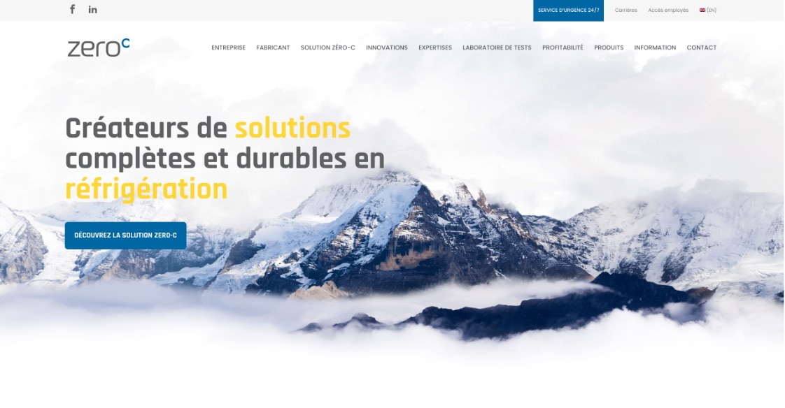 Nouveau site Web | Image sur mesure | Solution numérique