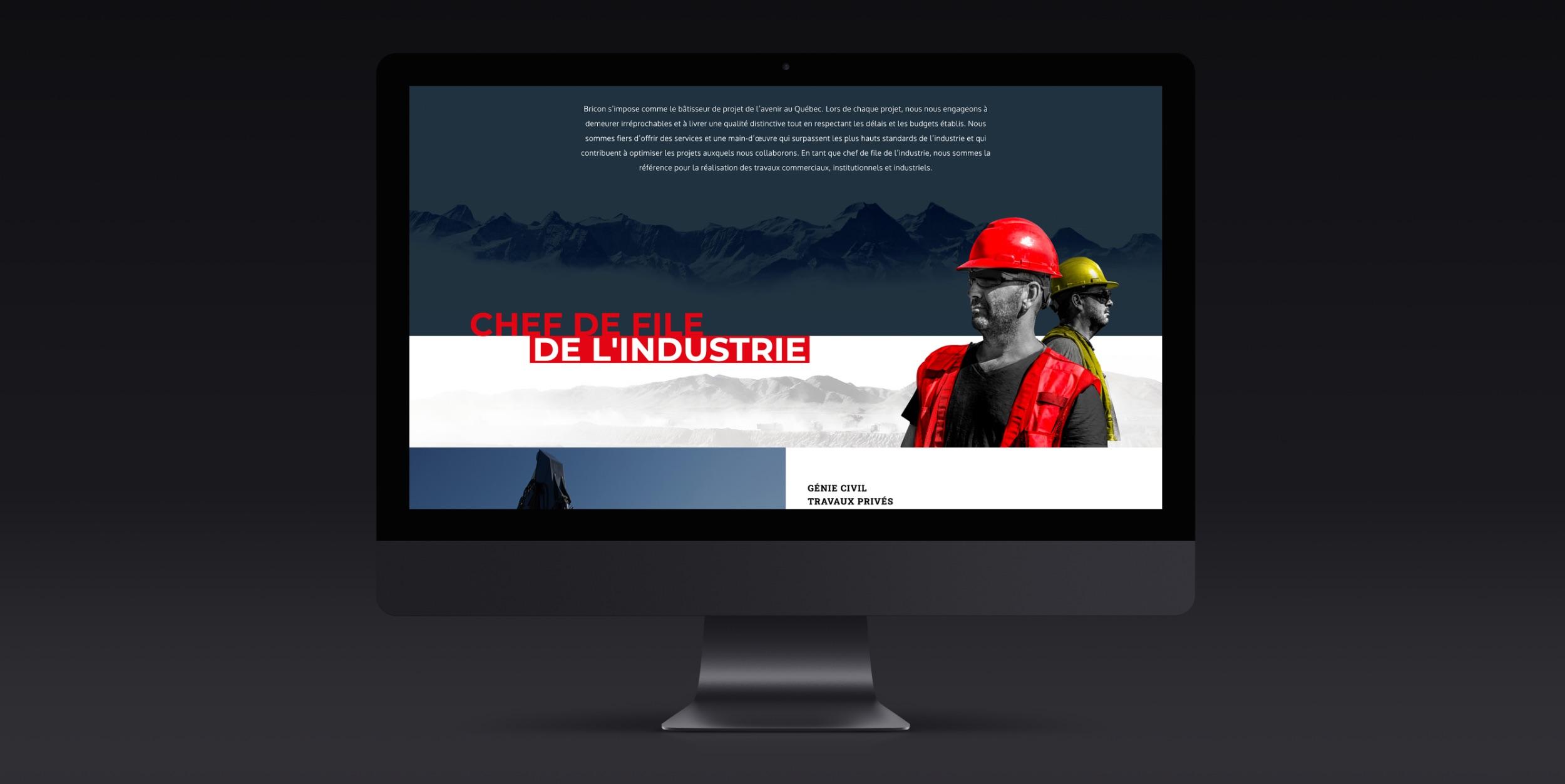 Plateforme numérique informative | Image web professionnelle