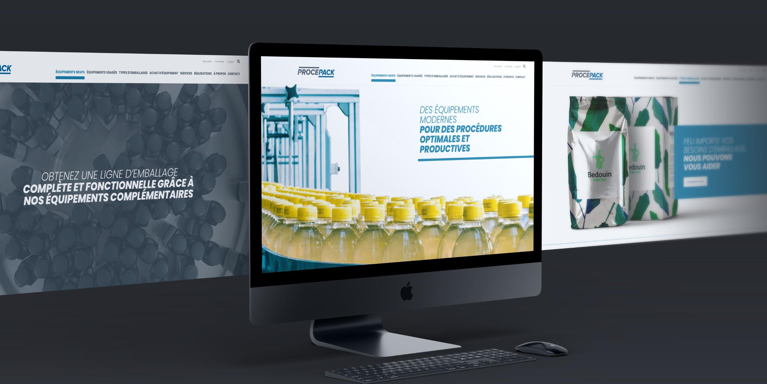 Réalisation Procepack | Solution numérique sur mesure