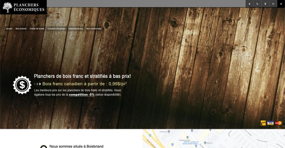 Refonte visuelle | Optimisation de contenu Web | Avant-après