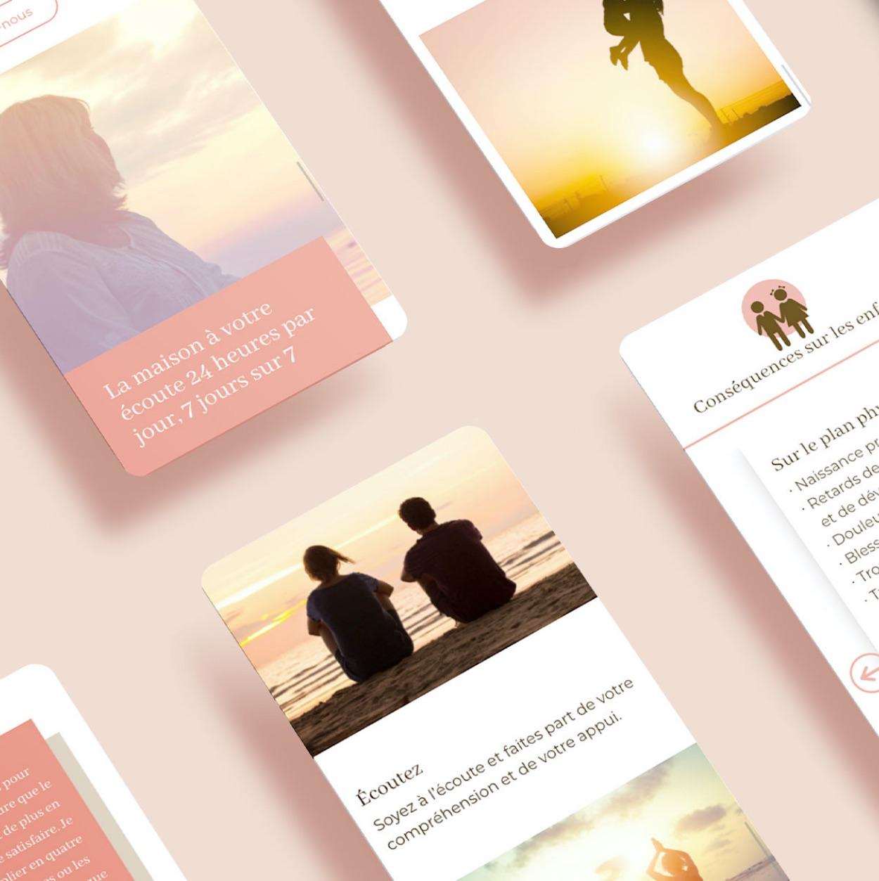 Site sur tablette | Navigation optimisée | Design responsive