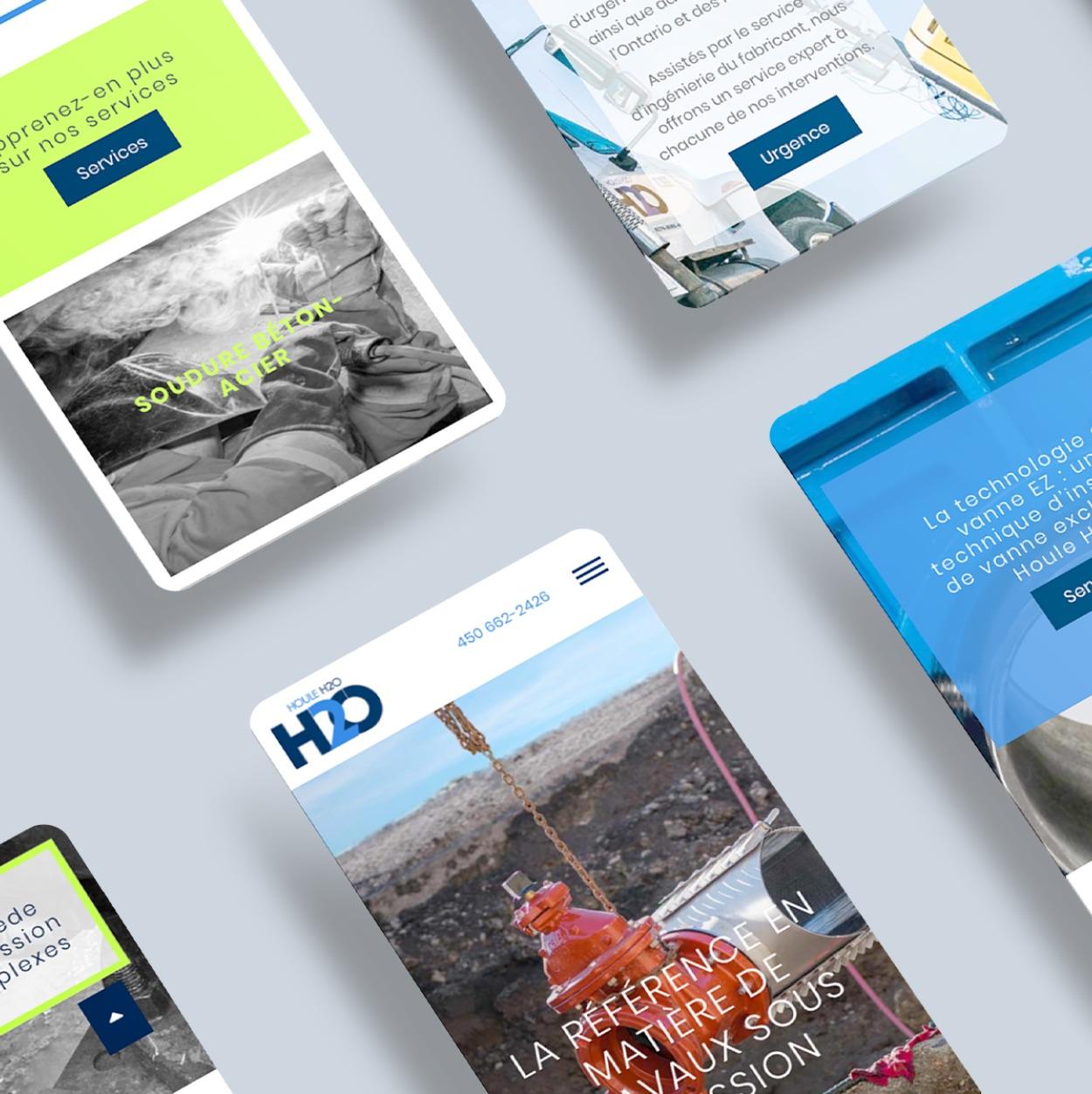 Site Internet responsive | Affichage dynamique | Mobile