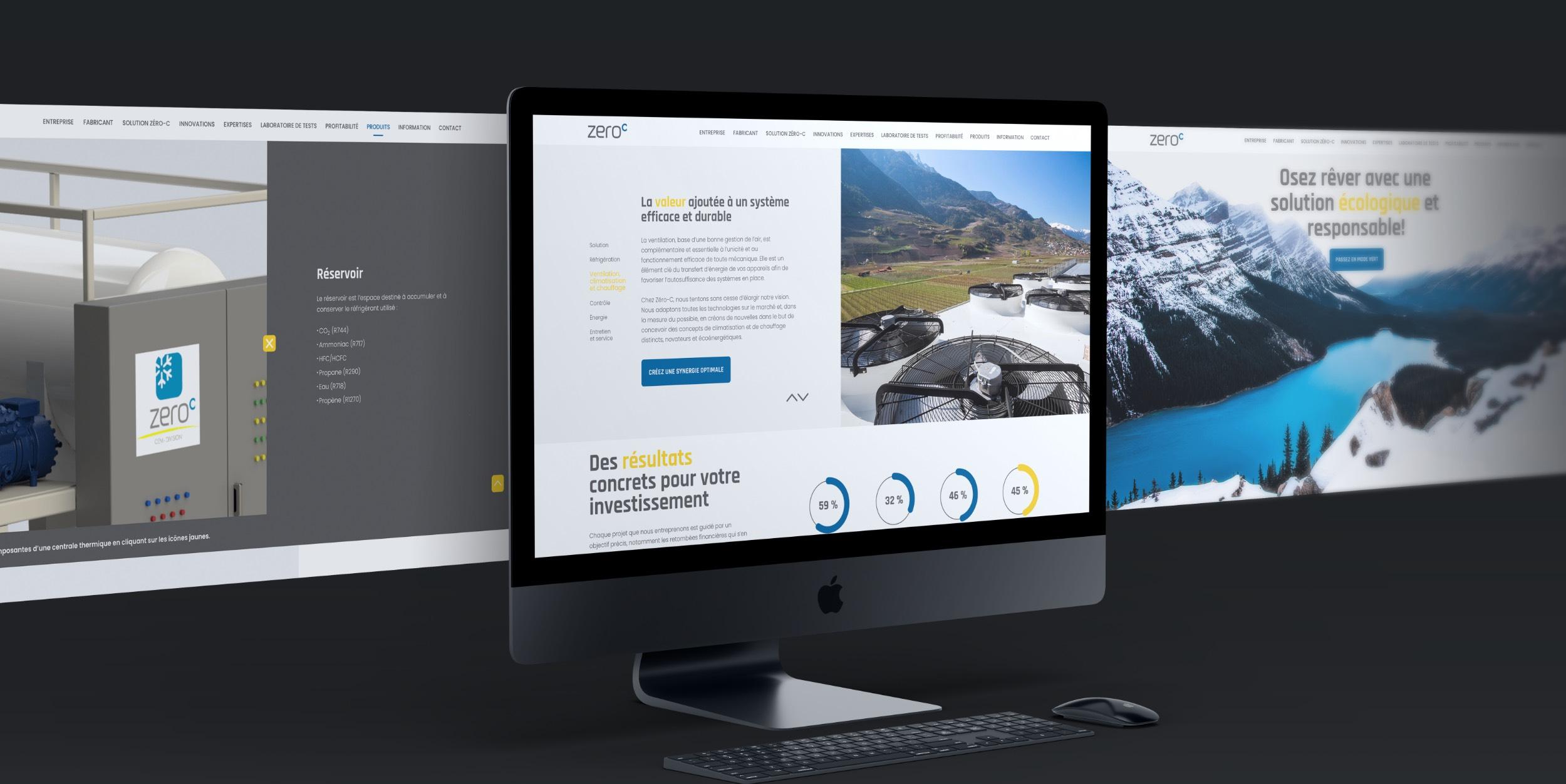 Site Internet sur mesure | Solution Web personnalisée | Tooltip