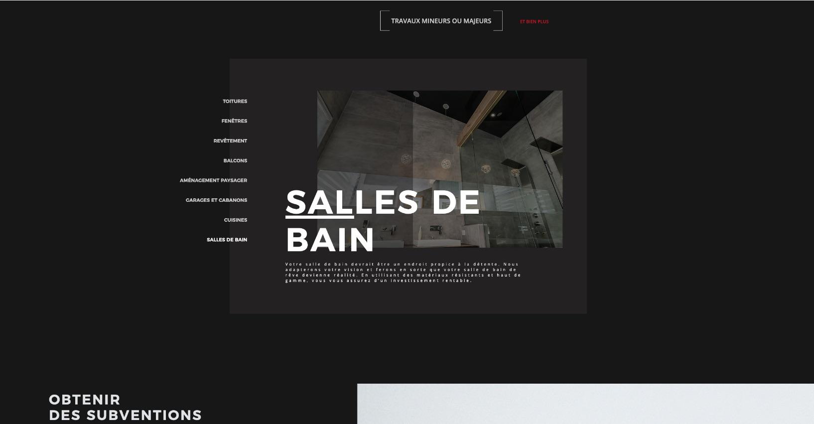 Site moderne | Création sur mesure | Métamorphose Web