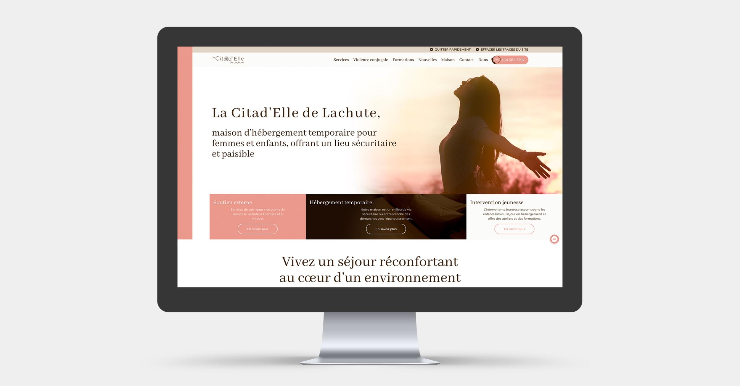 Solution de conception Web | Ressource en ligne | OBNL