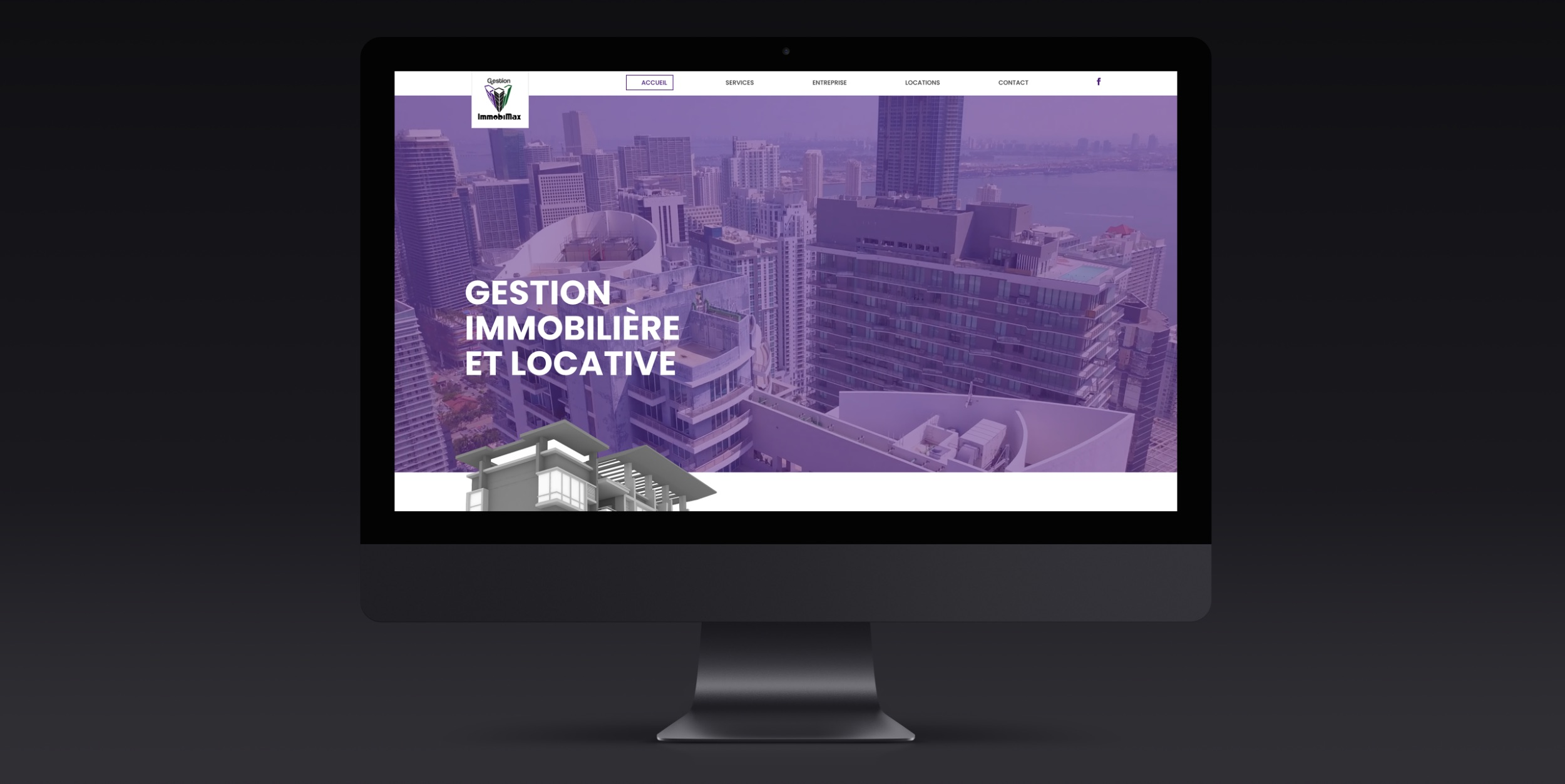 Header vidéo | Site Web complet | Objectifs d'affaires