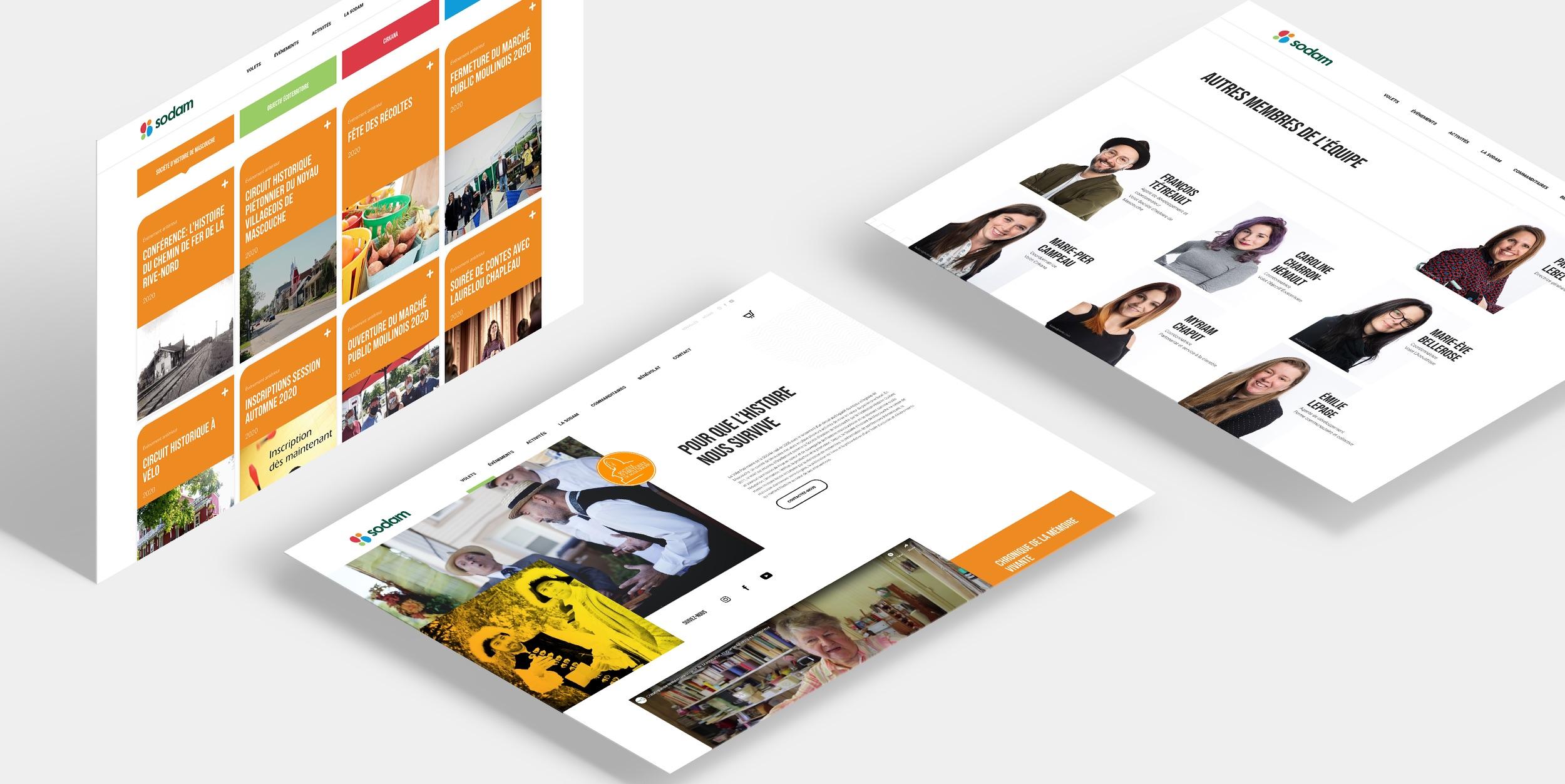 Site Web de qualité | Design personnalisé | Identité visuelle