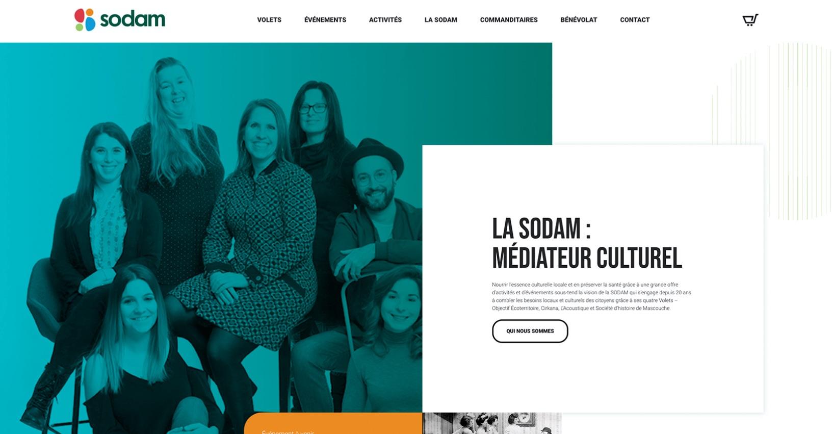 Site Web dynamique | Stratégie de contenu | Concept créatif
