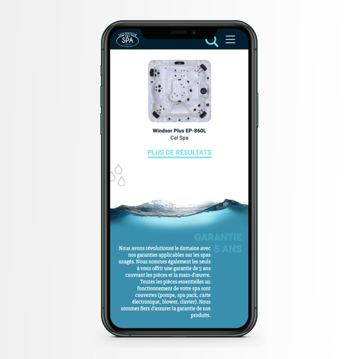 Site Web mobile | Concept visuel | Design stratégique