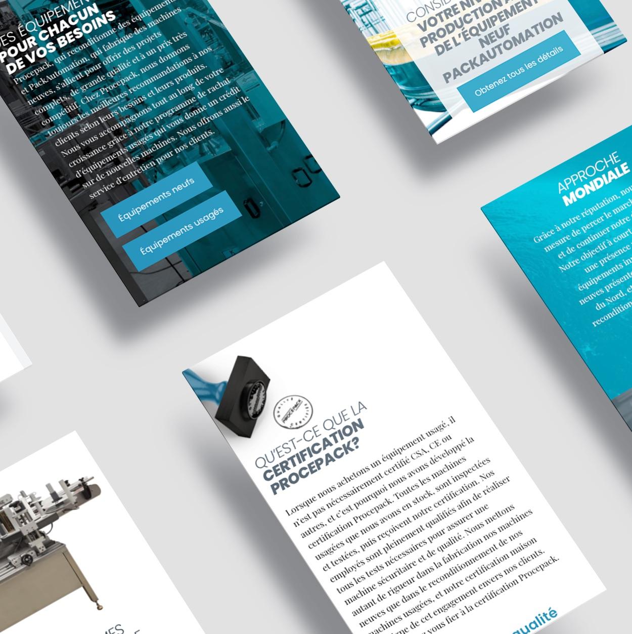 Design adaptatif sur appareils mobiles | Site Web réactif