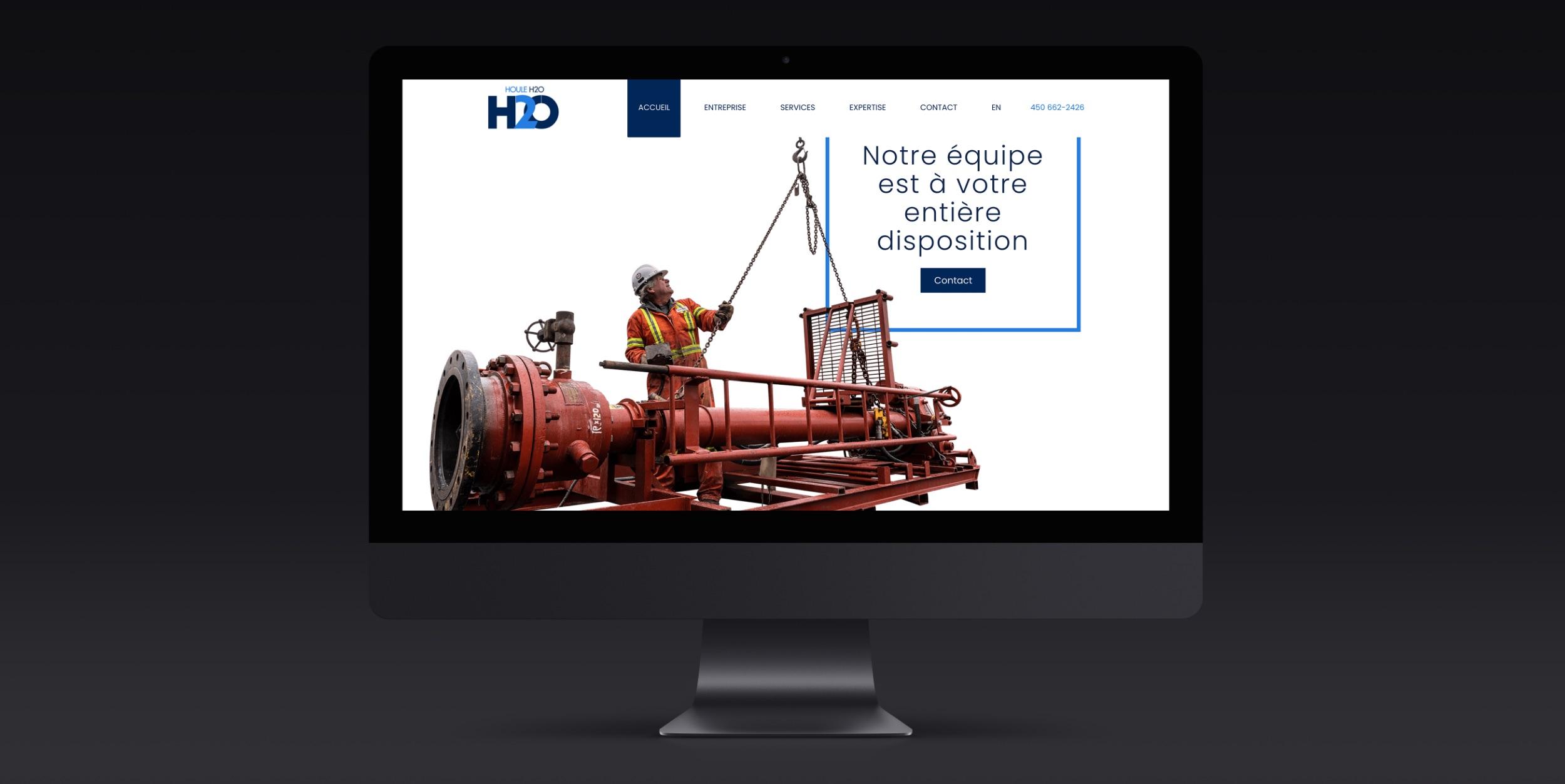 Site Web technique | Modernisation d'image de marque