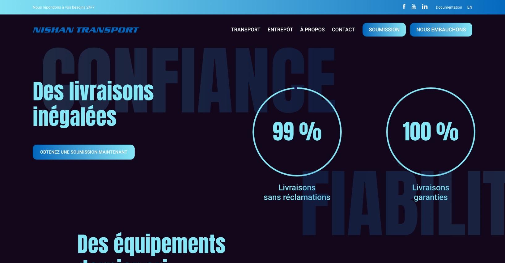 Site Web unique | Création sur mesure | Vitrine numérique