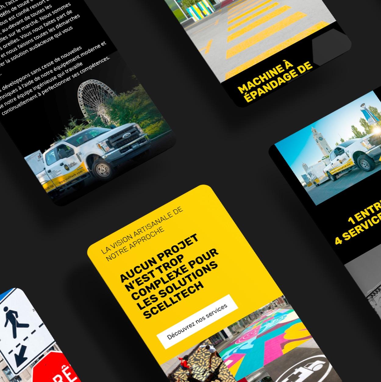Structure de contenu numérique | Design sur mesure