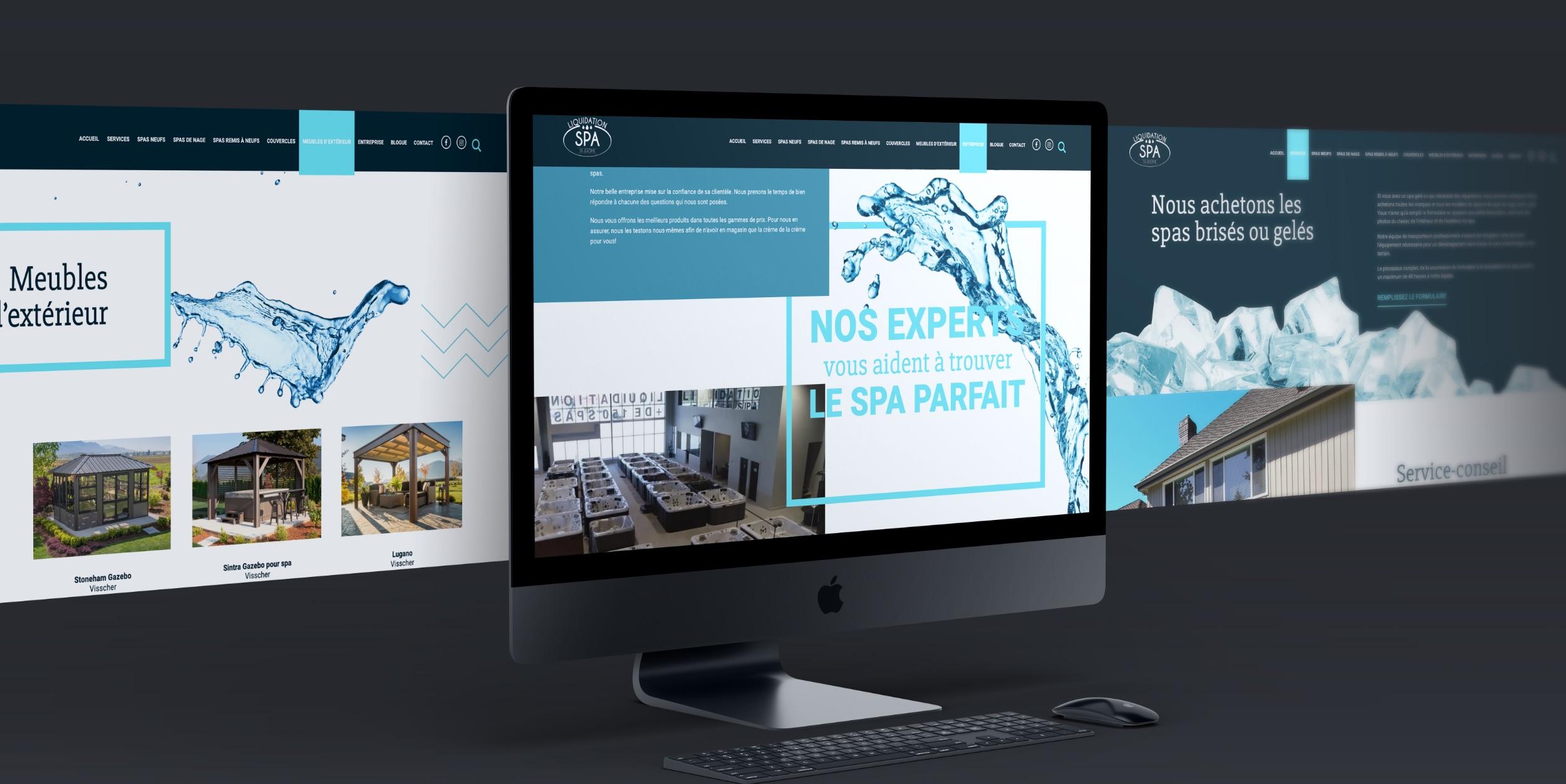Thématique visuelle | Design intuitif | UX | Expérience Web