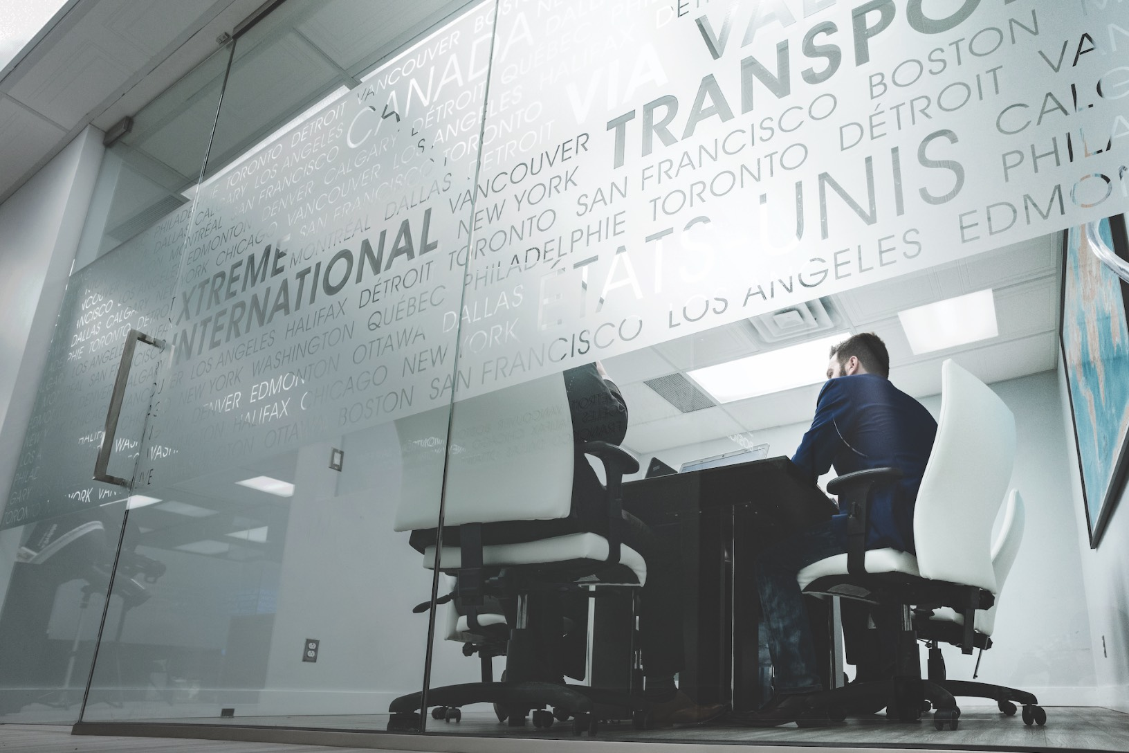 Xtreme Transport | Photo dans les bureaux | Photo d'équipe