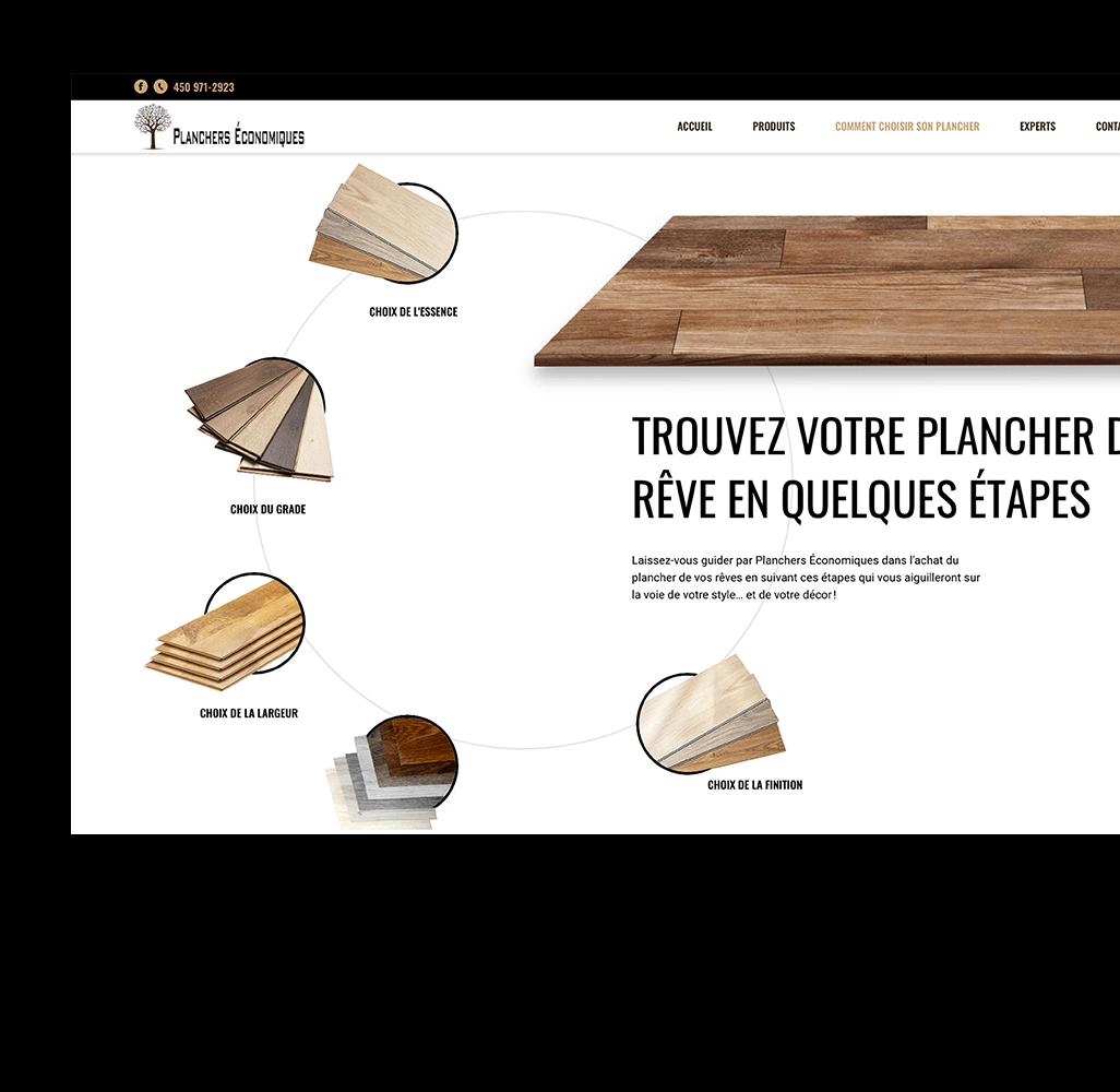 experience-utilisateur-site-web-catalogue-sur-mesure-planchers-economiques